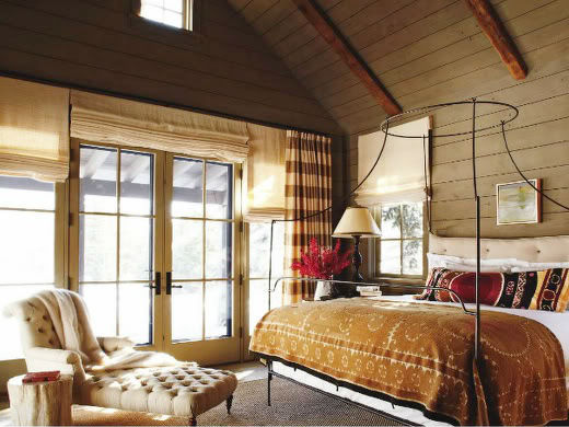 Ski Cabin Rustic Bedroom – Get This Look for Less
