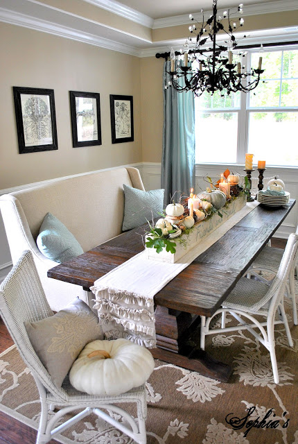 Use Your Sofa to Create a Great Dining Space