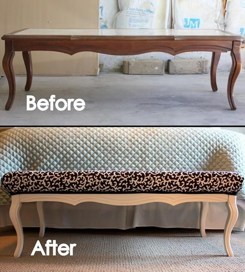 Turn an Old, Ugly Coffee Table into a Showpiece