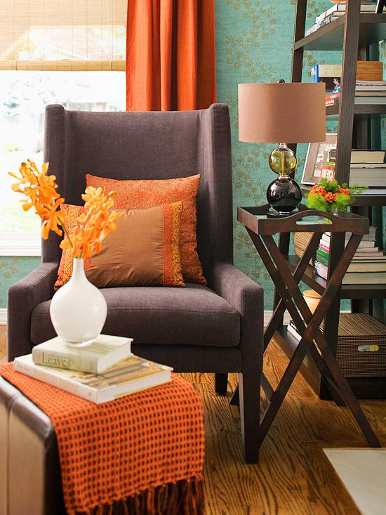 The Color of Pumpkin Spice at Home