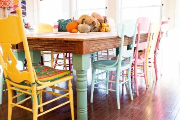 Eclectic Dining Spaces