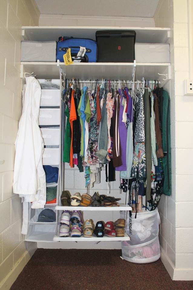 Tall Closet Space
