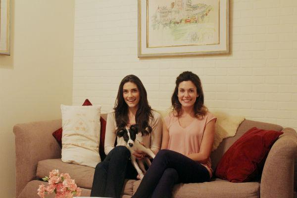 Decorating with AptDeco: Adriane and Claudia