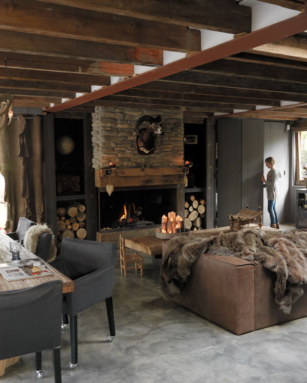 Ski Lodge Inspiration At Home