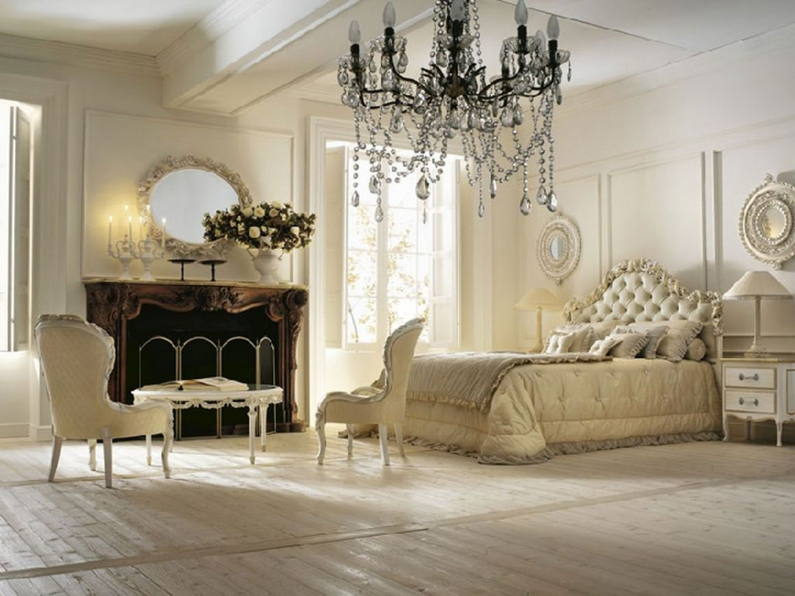 Grand Budapest Hotel Art Deco Bedroom