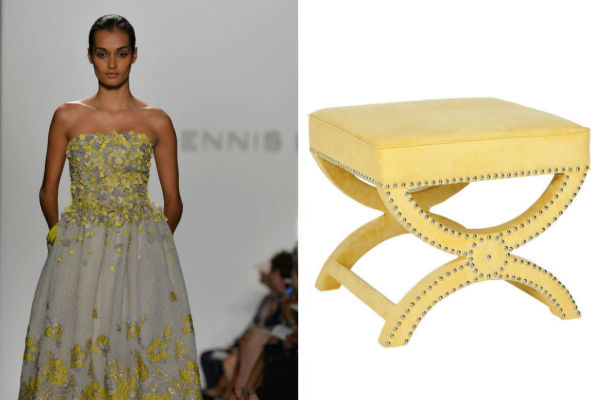 NY Fashion Week Inspired Furniture