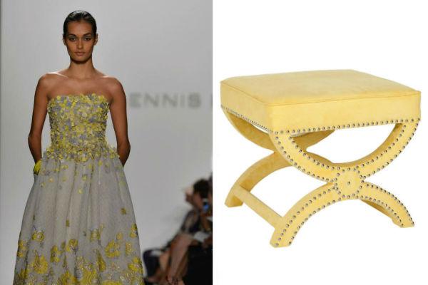 NY Fashion Week Inspired Furniture