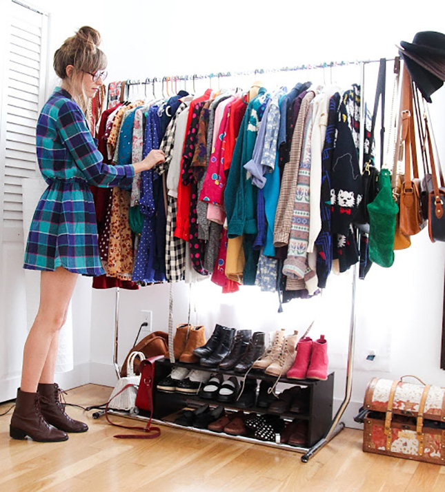4 Ways to Think Outside the Closet – At Home with AptDeco