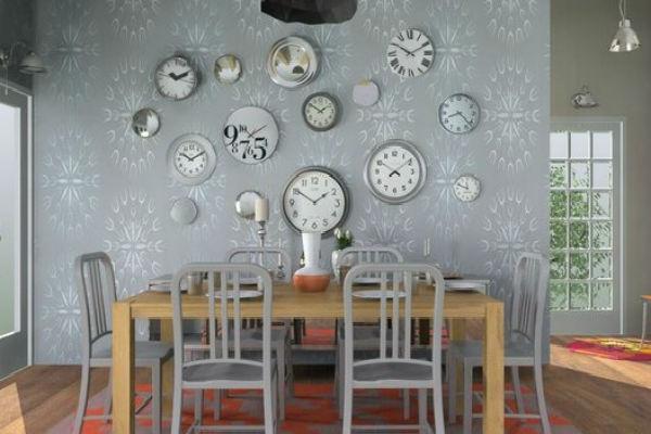A Gallery of Wall Clocks