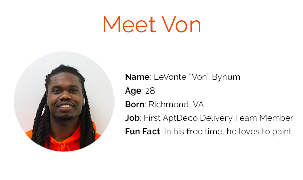 Meet Von: An Inside Look At Our Delivery Process