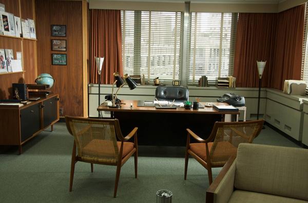 Don Draper Mad Men Office