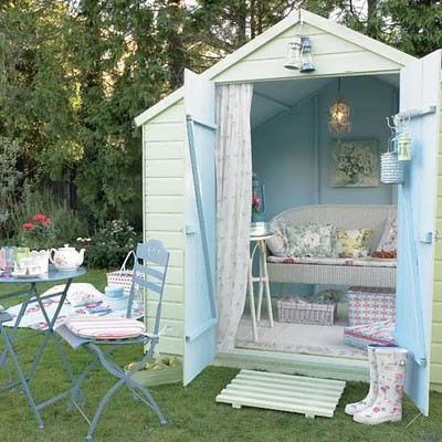 Shabby Chic Mom Shed