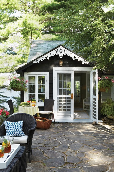 Rustic Mom Shed