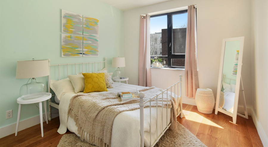 Shabby Chic Bedroom in Bed Stuy