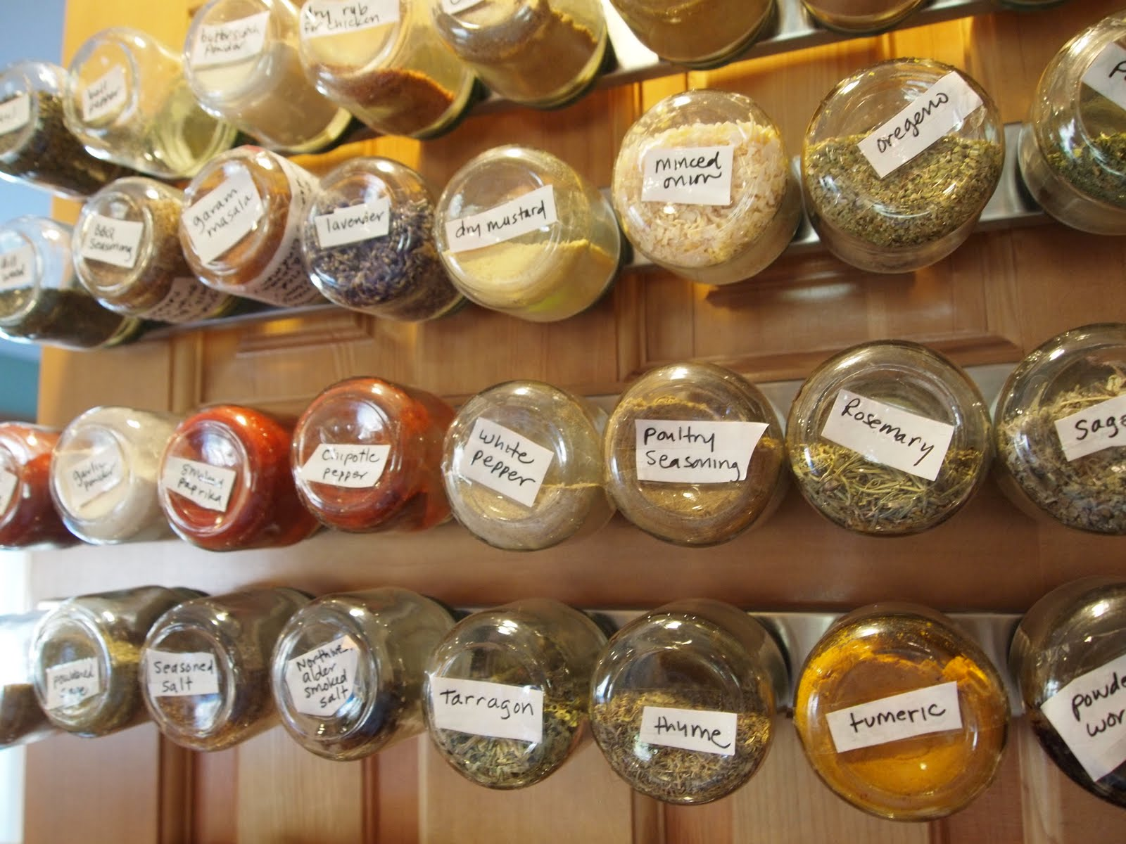 Baby Jar Spice Holder