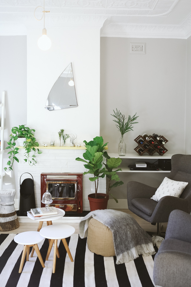 Fresh and Airy Living Room