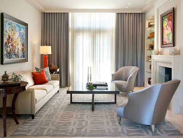 Neutral Living Room for Home Staging