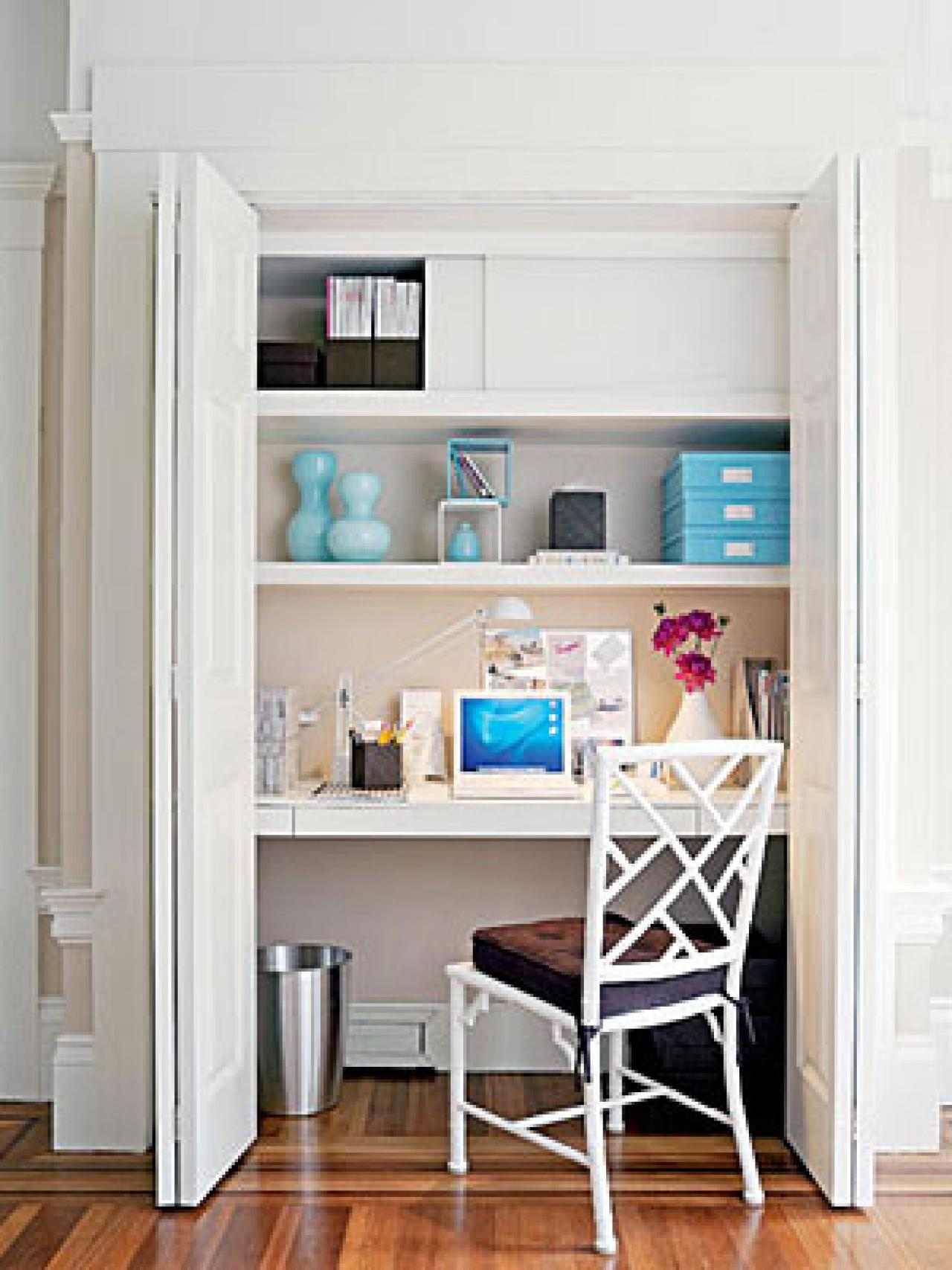 Office Ideas For A Small Space At Home with AptDeco