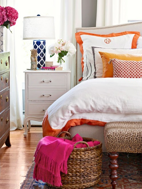 ... Georgetown Preppy Bedroom ...