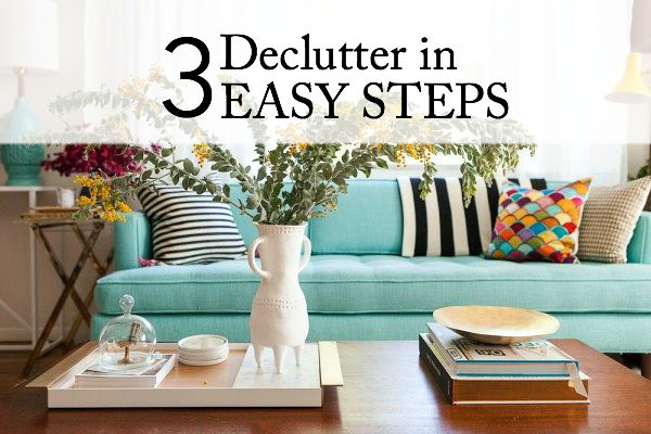 Declutter Your Life (and Space)