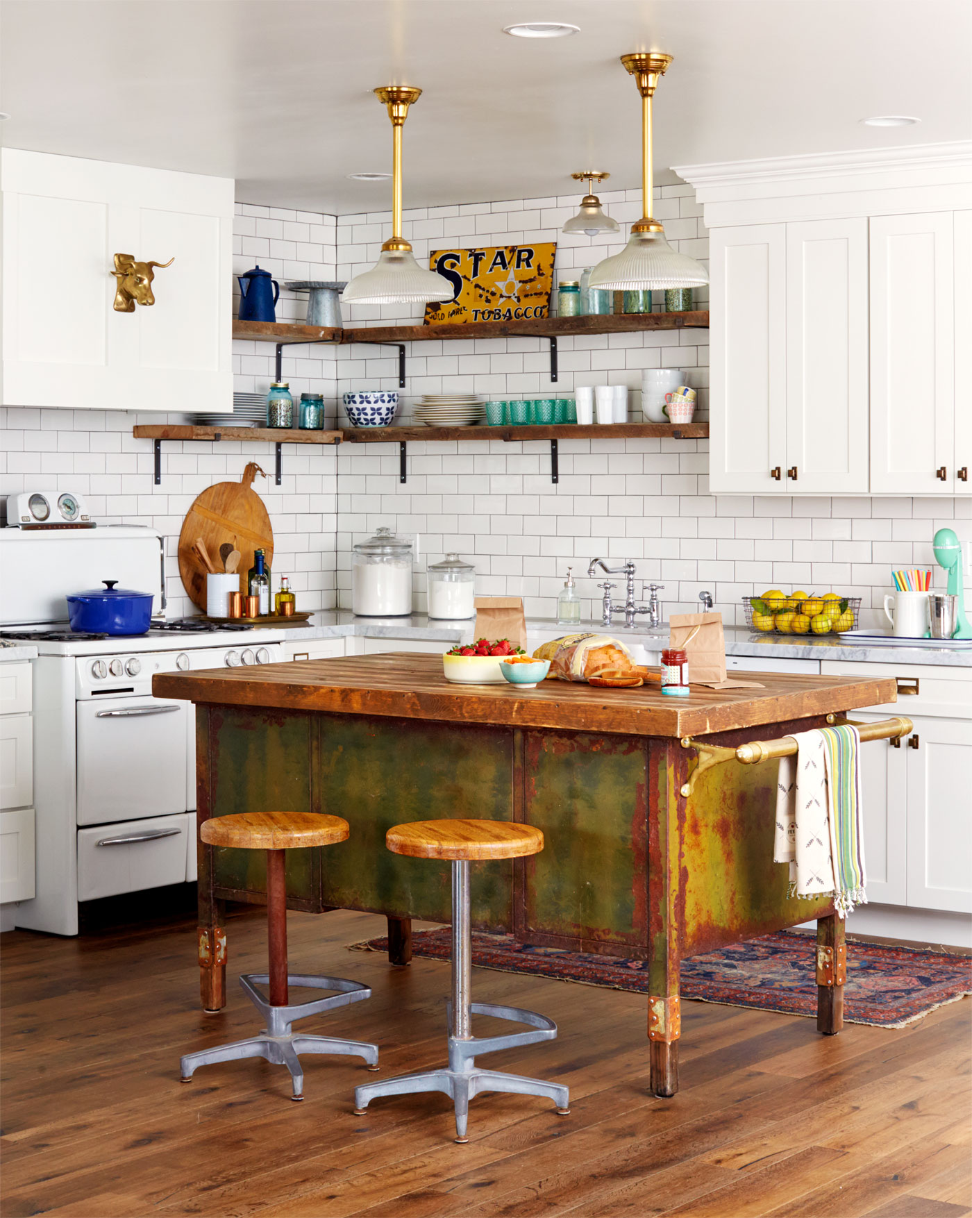 Military Trunk Kitchen Island