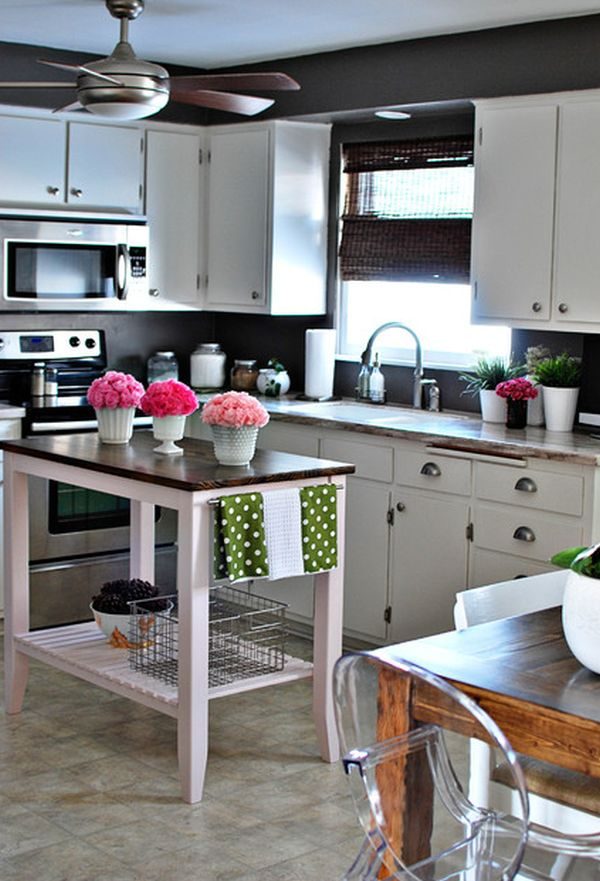 Colorful Classic Kitchen Island