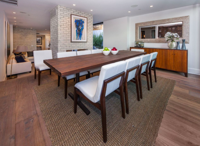 Emily Blunt and John Krasinski's dining room