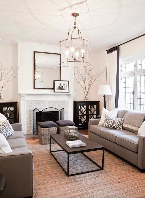 Home decor trends 2016 - tech less living room