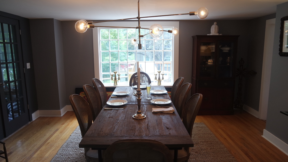 House Tour: Kevin and Joe's Getaway Home - dining room