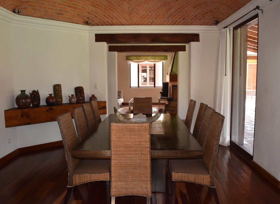 Moving to a New City with K. Tyson Perez - San Miguel de Allende apartment - dining room - artisan crafts