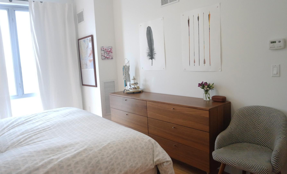 How to decorate as a couple - Bedroom of Brooklyn Apartment