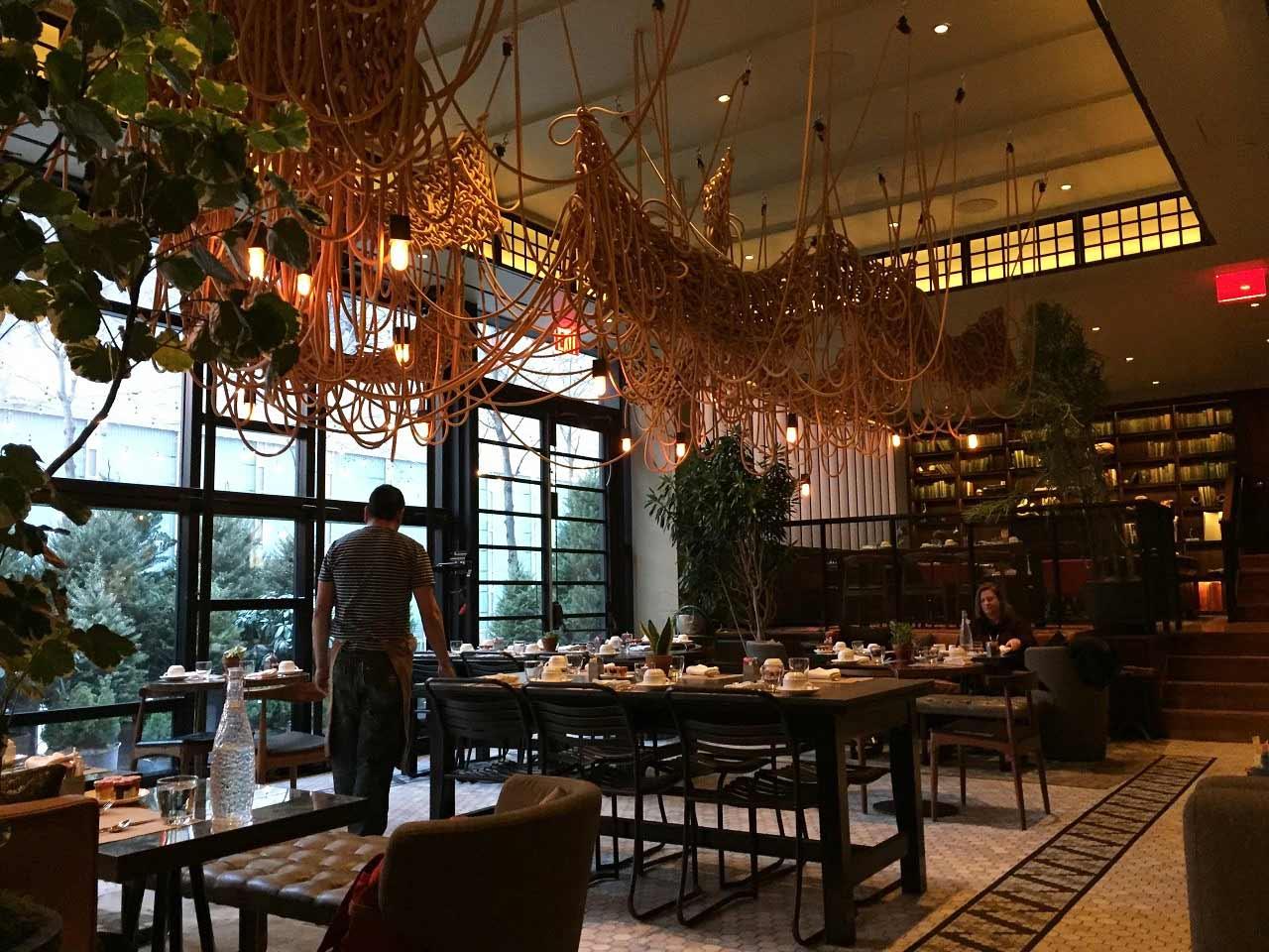 restaurant decorated by Rachel Montgomery Paupeck