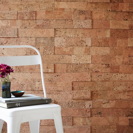 2017 home decor trends - cork walls