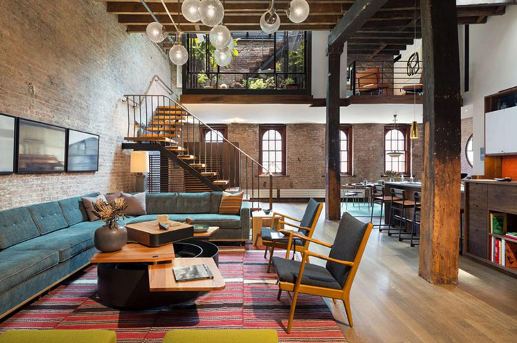 Tribeca loft warehouse apartment