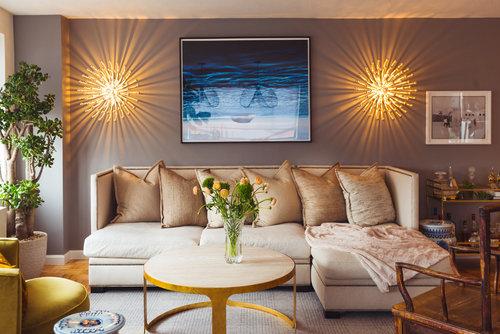 Contemporary Living room designed by Brett Helsham Designs