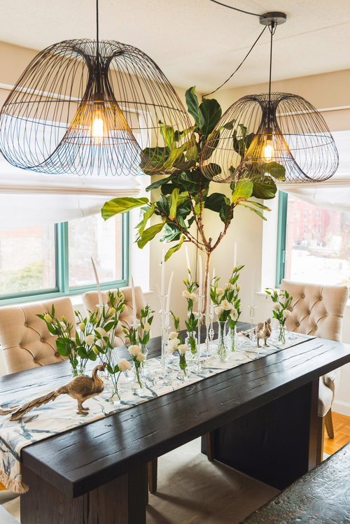 Traditional Dining room decorated by Brett Helsham Designs