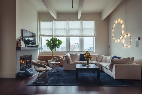 Modern Living room designed by Brett Helsham Designs
