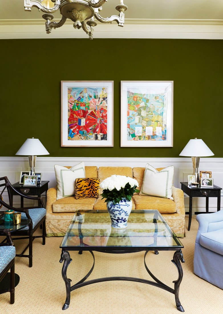 elegant apartment - chic living room